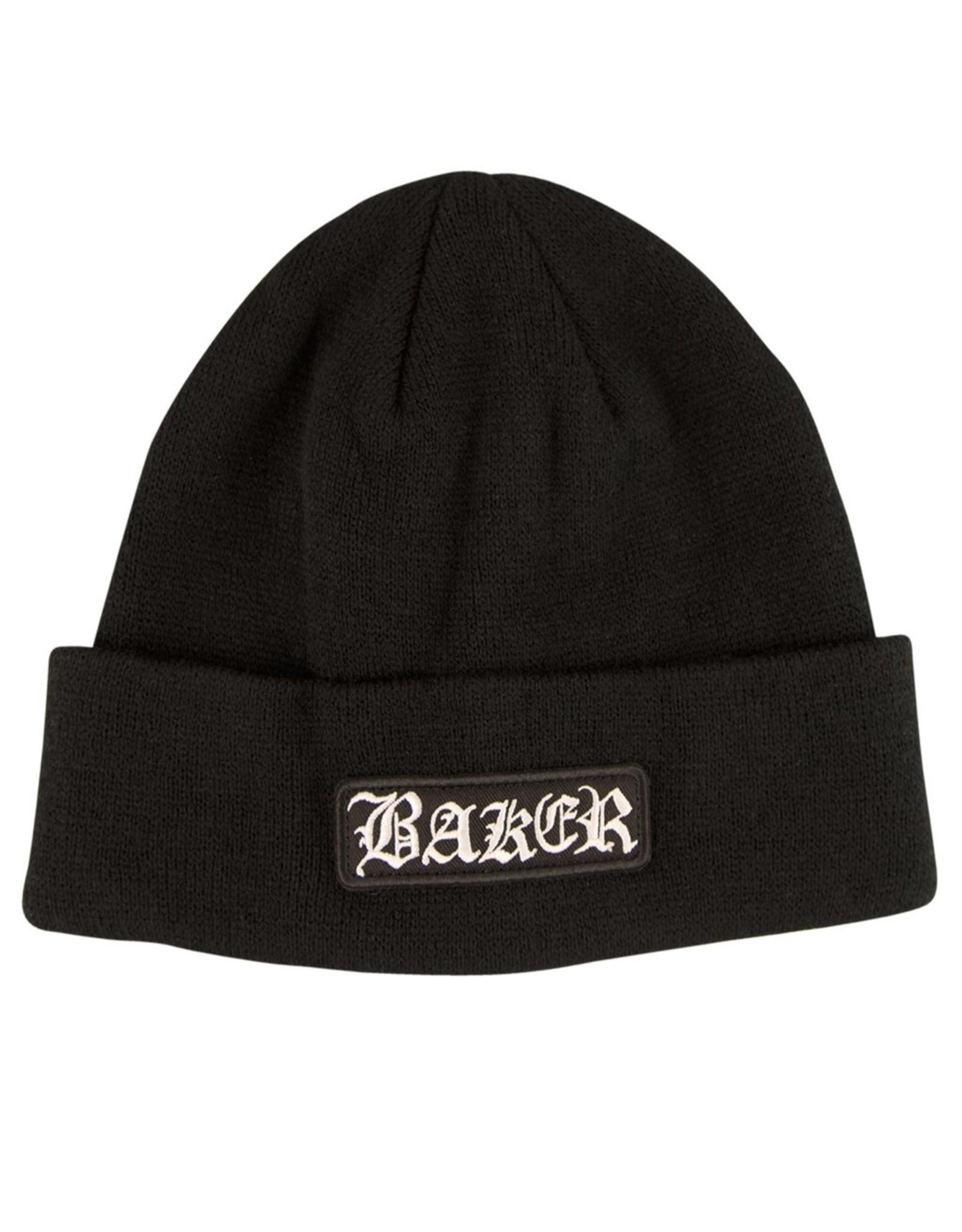 BAKER BAKER - OAKLAND BEANIE BLACK