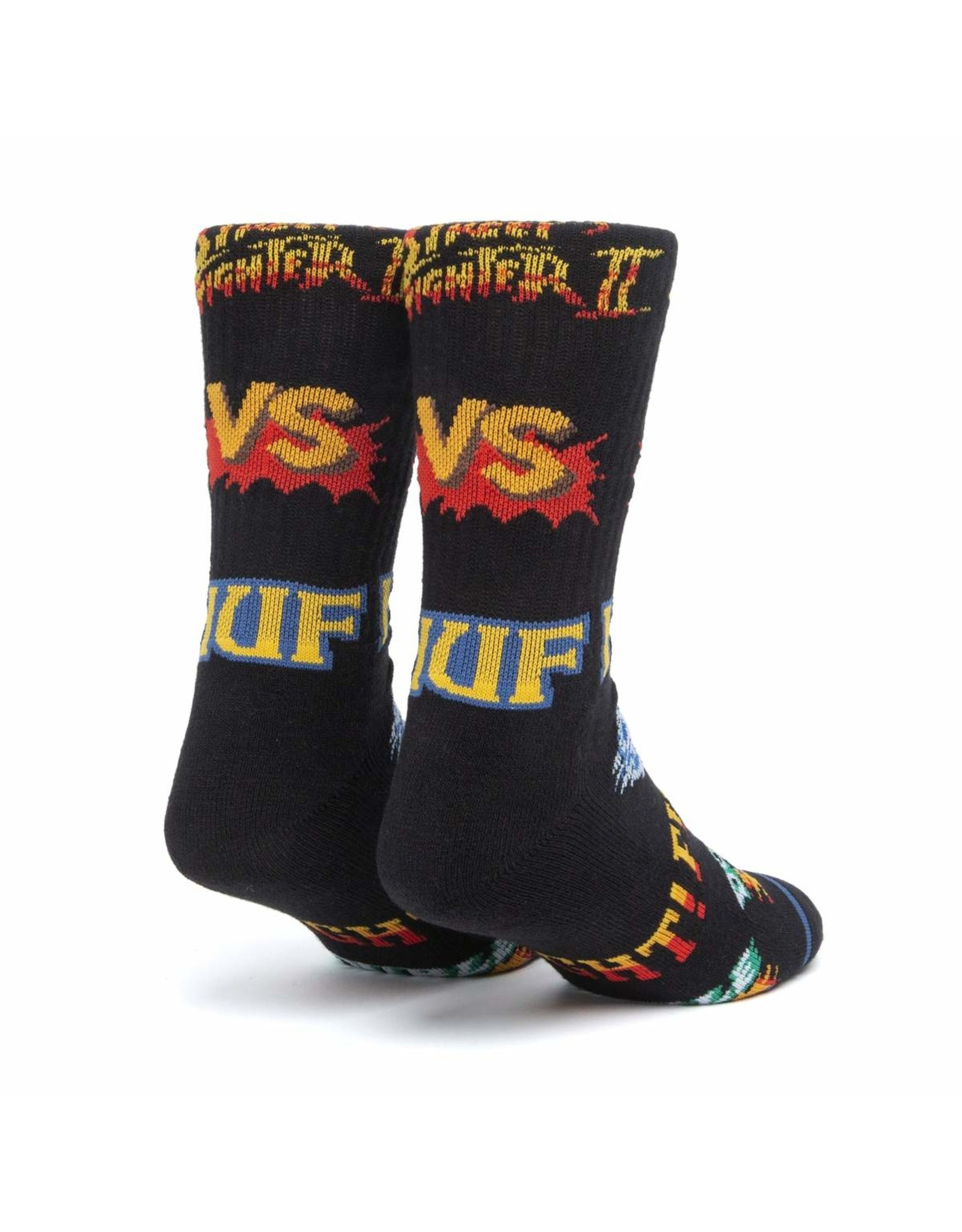 HUF HUF - STREET FIGHTER GRAPHIC SOCK BLACK