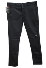 DICKIES SKATE PANTS DICKIES - SKINNY DOUBLE KNEE - BLACK -