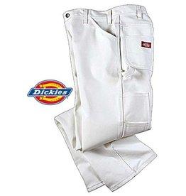DICKIES SKATE PANTS DICKIES - UTILITY PANT - WHT -
