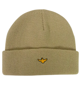 KROOKED KROOKED - OG BIRD BEANIE CREAM