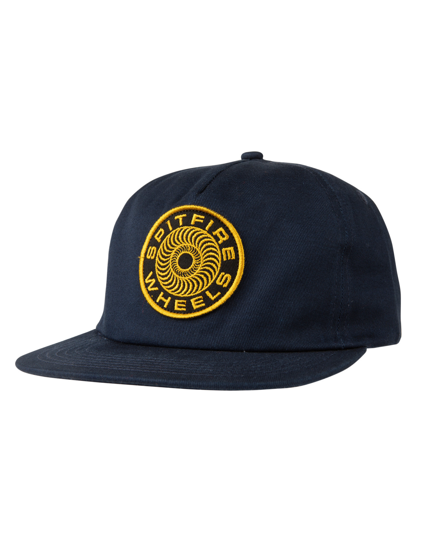 SPITFIRE SPITFIRE - CLASSIC 87 SWIRL PATCH HAT NAVY/YELLOW