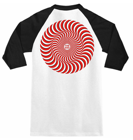 SPITFIRE SPITFIRE - CLASSIC SWIRL OVERLAY LS WHT/BLK/RED