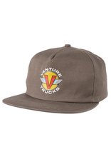 VENTURE VENTURE - WINGS HAT CHARCOAL/YELLOW/RED