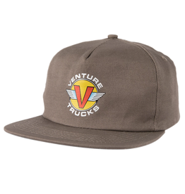 VENTURE VENTURE - WINGS HAT CHAR/YEL/RED
