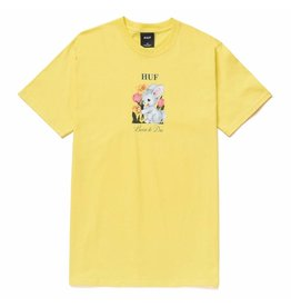 HUF HUF - BORN TO DIE S/S - YLLW -