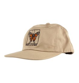 WELCOME WELCOME - BUTTERFLY SNAPBACK - KHAKI