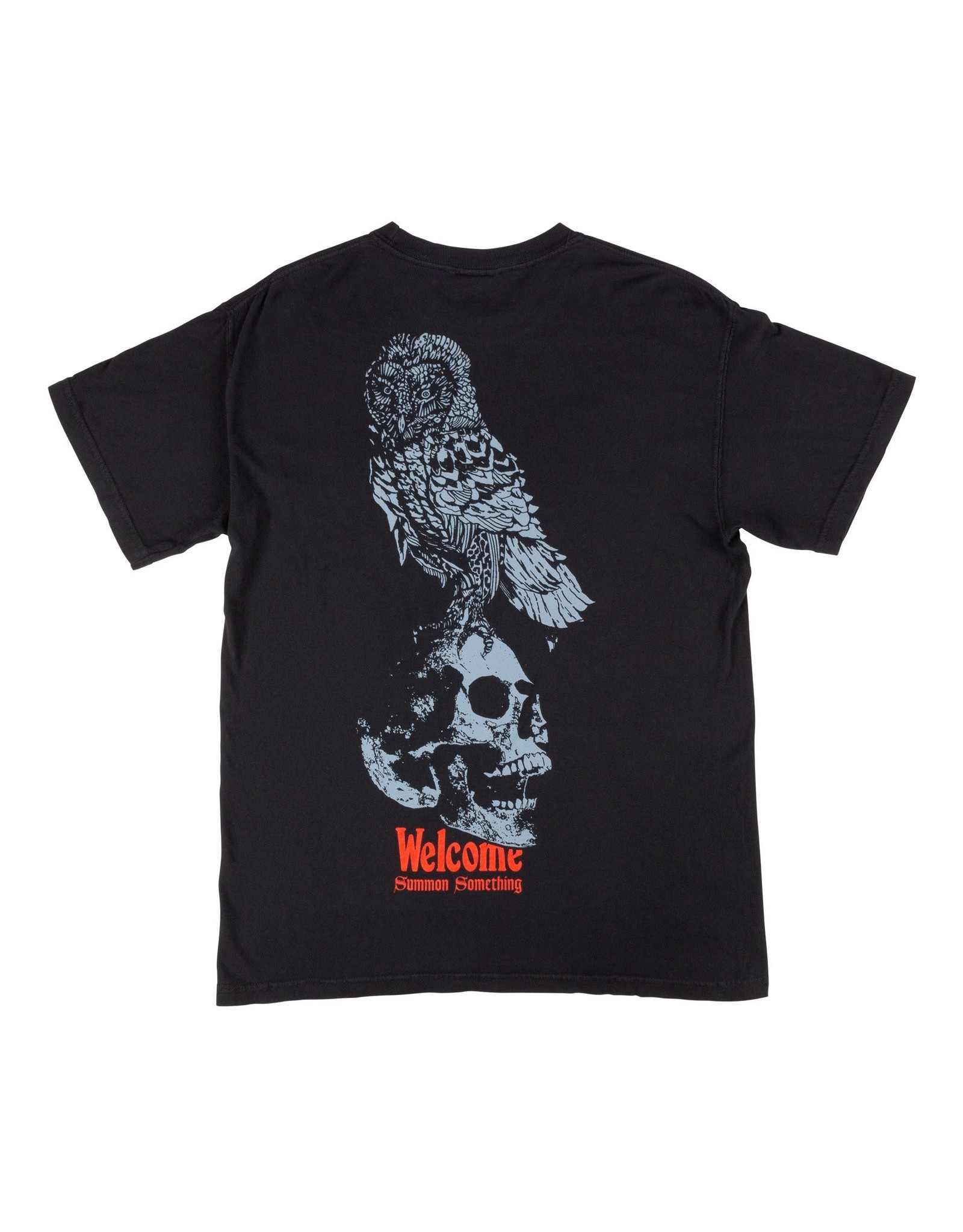WELCOME WELCOME - BIRD BRAIN DYED - BLACK -