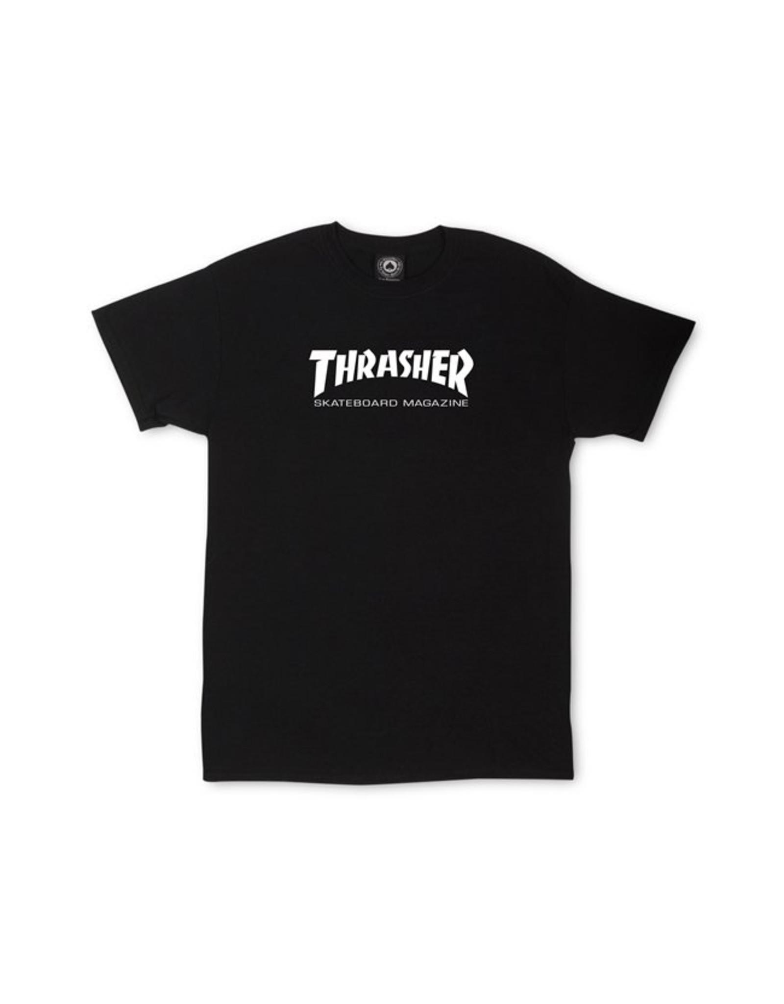THRASHER THRASHER - SKATE MAG YOUTH - BLACK -