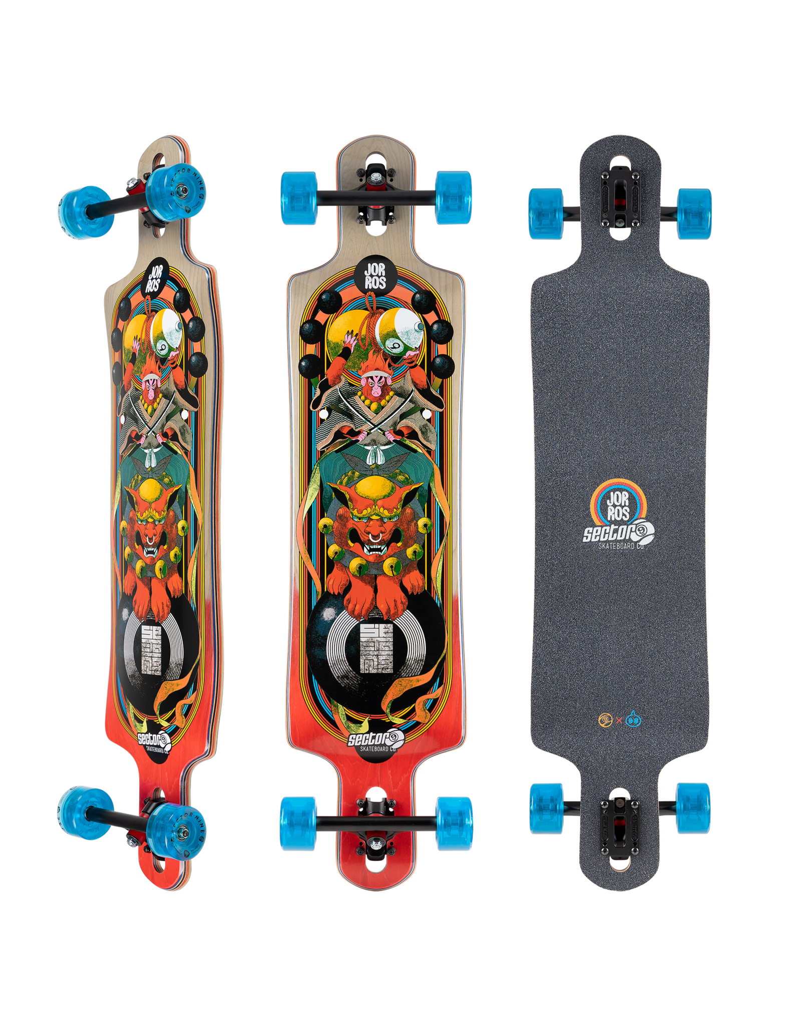 SECTOR 9 SECTOR 9 - MONKEY KING COMPLETE - 40.5 X 9.75