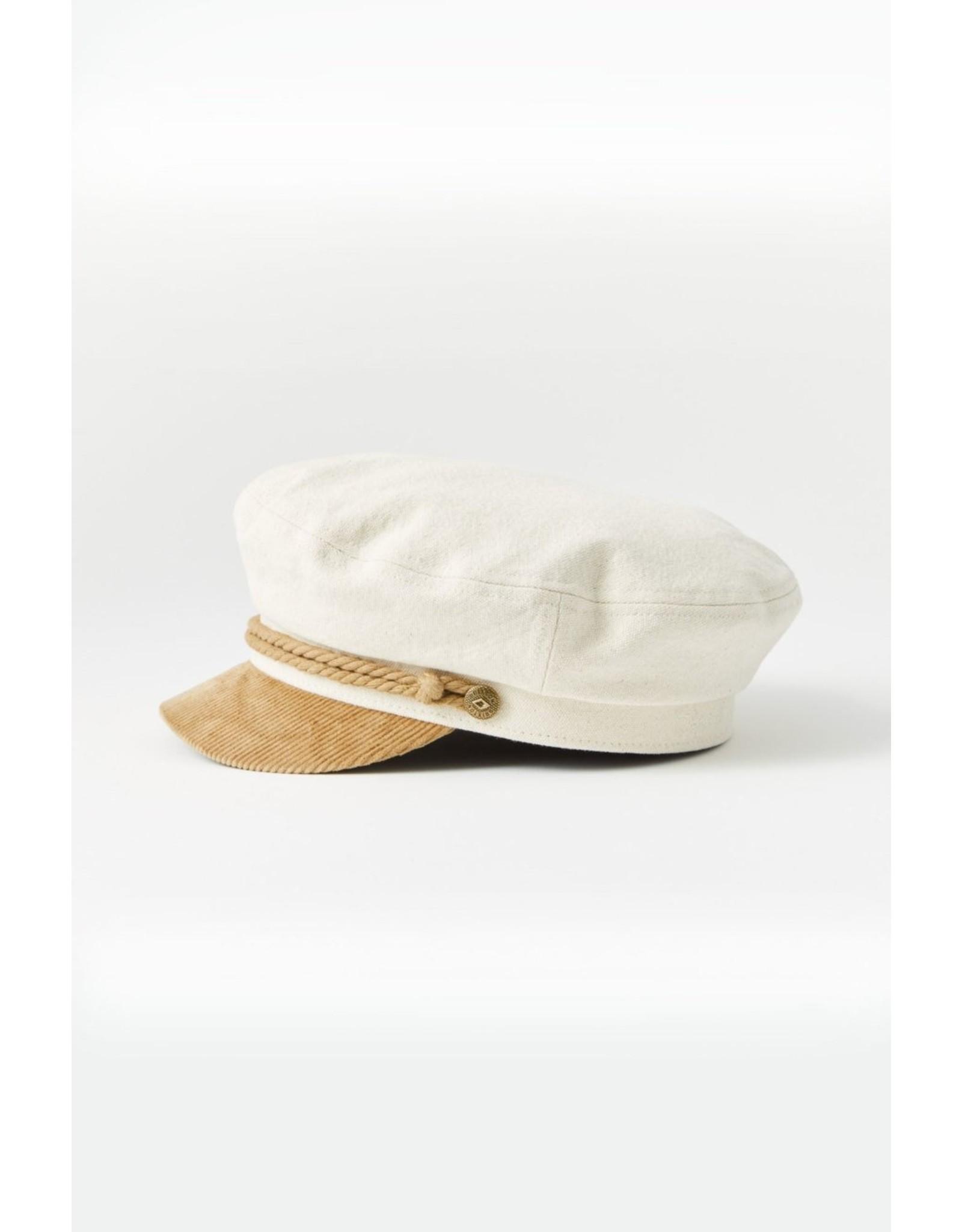 BRIXTON BRIXTON - FIDDLER CAP - BEIGE/TAN -