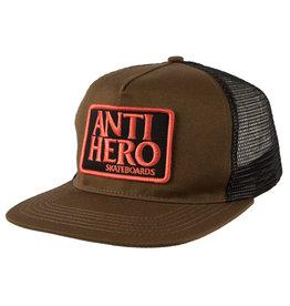 ANTIHERO SKATEBOARD DECKS ANTIHERO - RESERVE PATCH HAT OLV/BLK