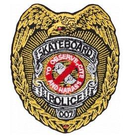 POWELL SKATEBOARD DECKS POWELL - SKATEBOARD POLICE PATCH