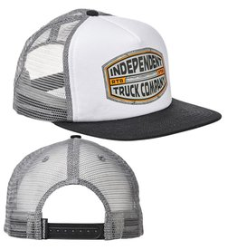 INDEPENDENT INDEPENDENT - ITC CURB MESH TRUCKER GREY/WHITE