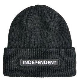 INDEPENDENT INDEPENDENT - B/C GROUNDWORK BEANIE BLACK
