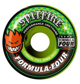 SPITFIRE WHEELS SPITFIRE - GREEN SWIRL CONICAL FULL - 99D - 55