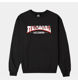 THRASHER THRASHER - FIRME LOGO CREW - BLACK