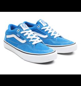VANS SKATE SHOES VANS - ROWAN PRO - BLUE/WHT -