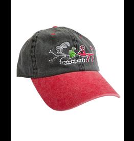 FROG SKATEBOARD DECKS FROG - FROG EXISTS HAT - BLK/RED