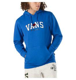 VANS SKATE SHOES VANS - 66 CHAMPS HOODIE - BLUE -