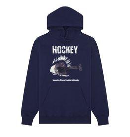 HOCKEY SKATEBOARD DECKS HOCKEY - BREAKFAST INSANITY HOOD NVY
