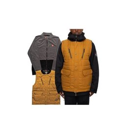 686 OUTERWEAR 686 - SMARTY 5 IN 1 JACKET - GLDN BRWN