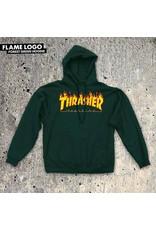 THRASHER THRASHER - FLAME HOODIE