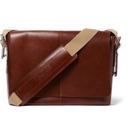 Brooks Brooks England Leather Messenger Bag Barbican - Brown