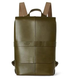 Brooks Brooks England Piccadilly Leather Knapsack Olive Green