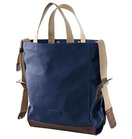 Brooks Brooks England Brixton Satchel Blue/Choco