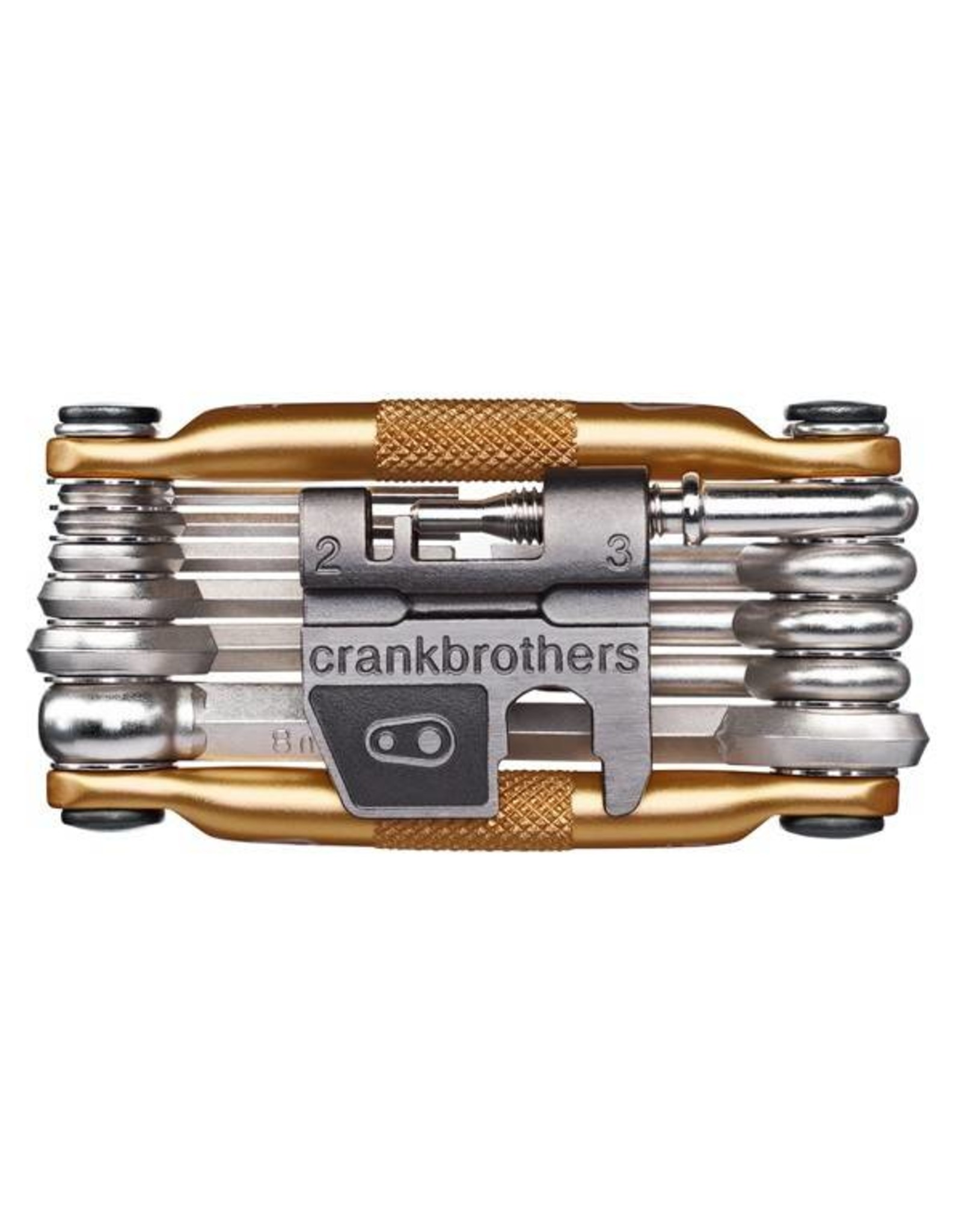 Crank Brothers Crank Brothers Multi-17 Tool - Gold
