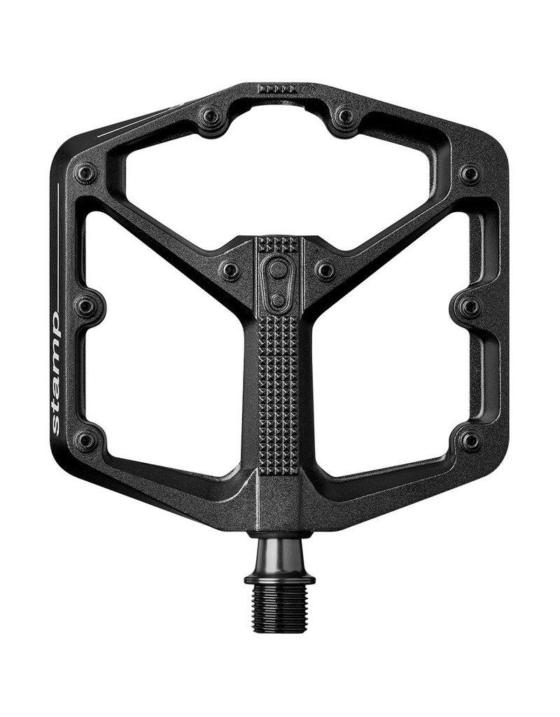 Crank Brothers Crank Brothers Stamp 3 Small Pedals: Black