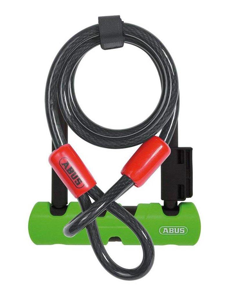"""ABUS ABUS U-Lock Ultra 410 Mini LS 7"""" + Cobra 10/120"""