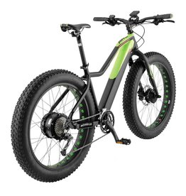 Easy Motion Easy Motion Evo AWD Big Bud Pro - Black/Green - Medium