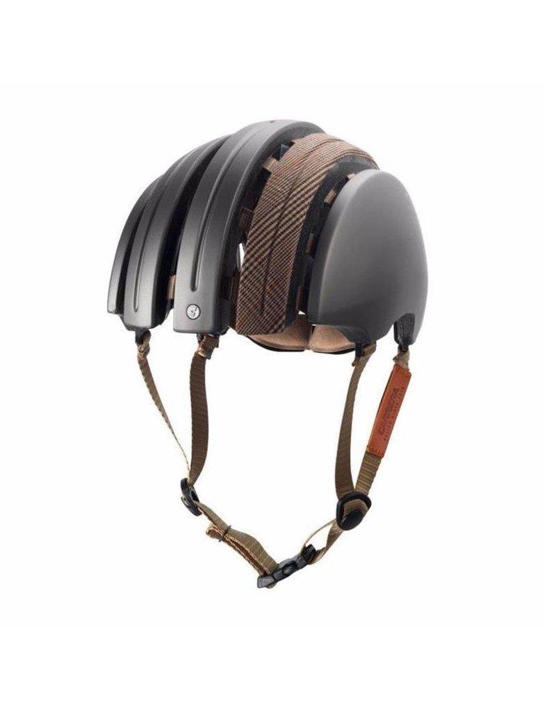 Brooks Brooks Folding Helmet - Large - Silver