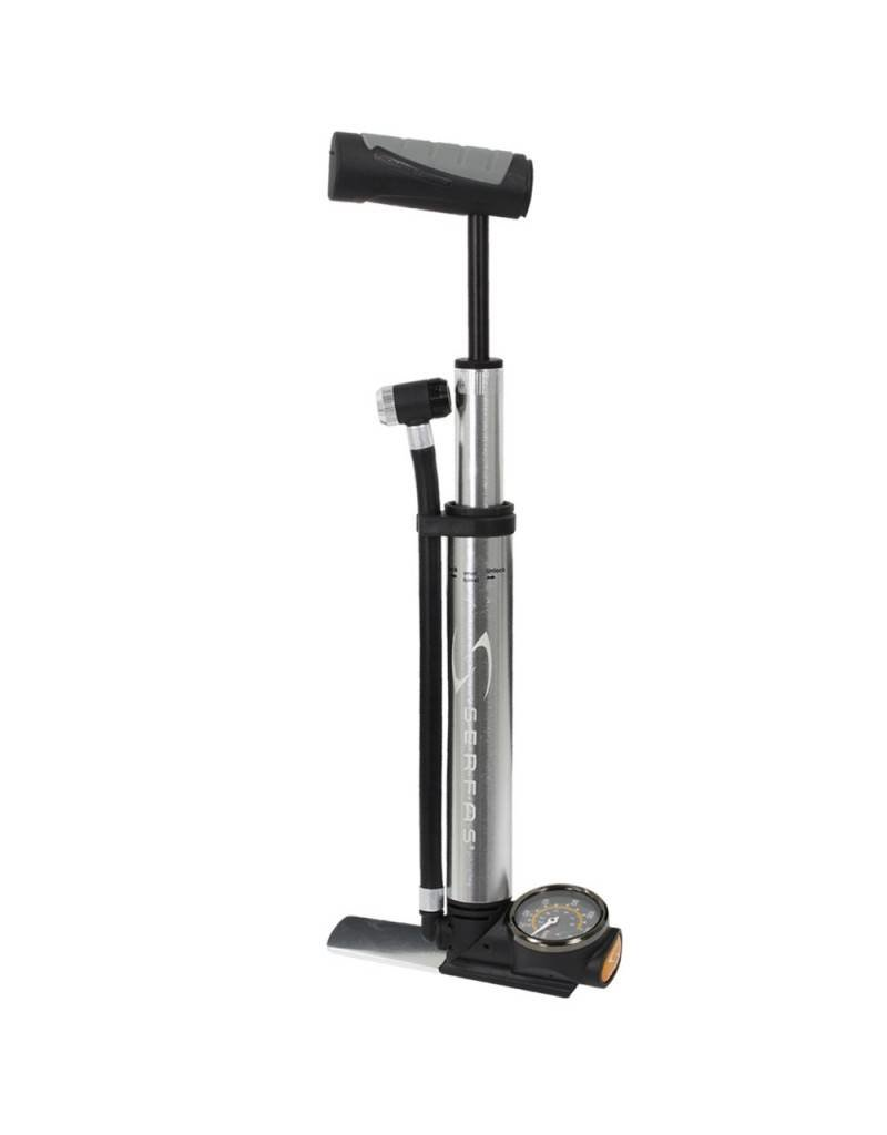 Serfas Serfas - Mini Floor Pump w/ gauge