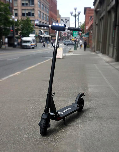 THE NEW SCOOTERS ARE HERE