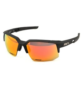 100% 100% Speedcoupe Soft Tact Black Hiper Red Multi Mirror Lens