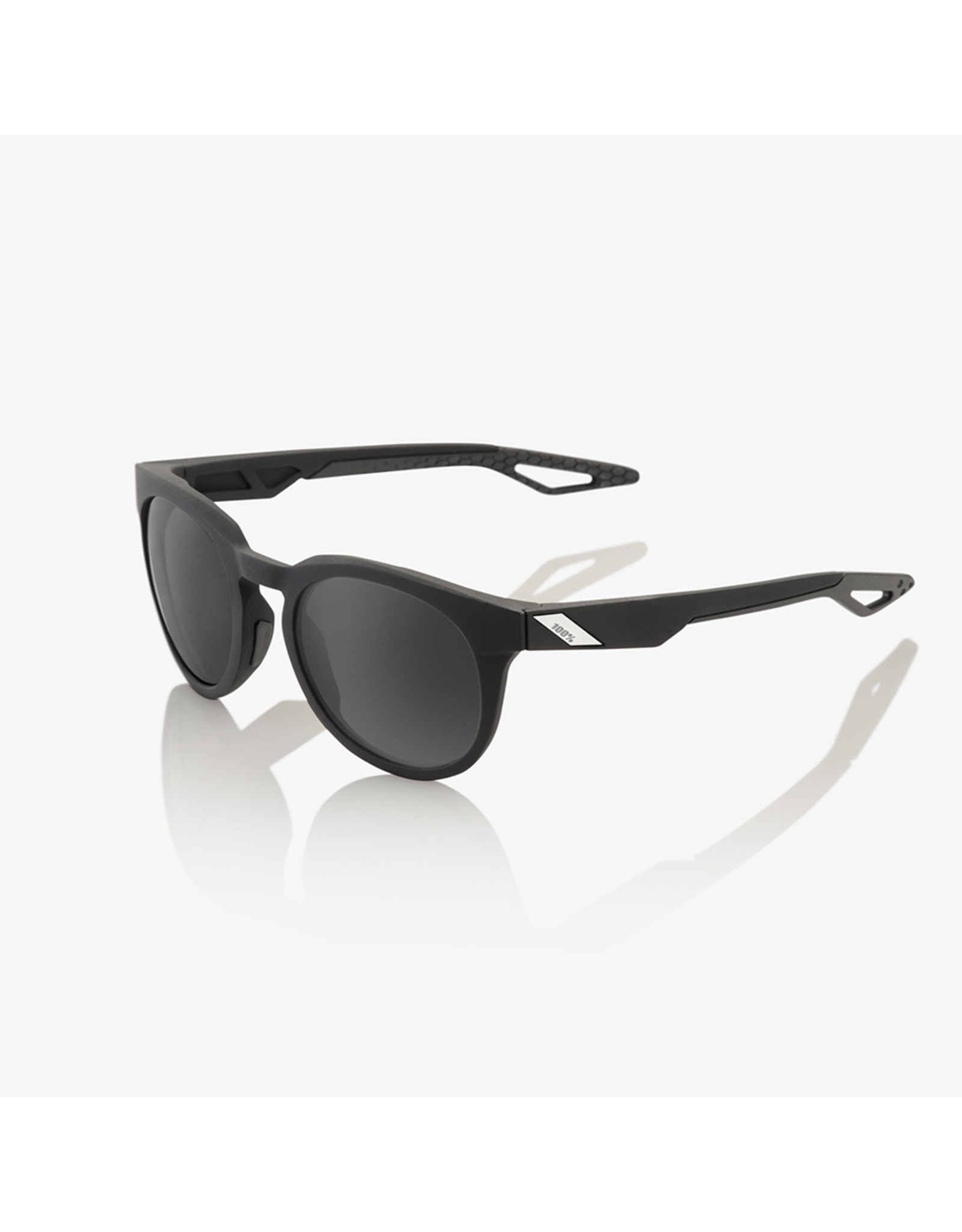 100% 100% Campo Soft Tact Black Grey Peakpolar Lens