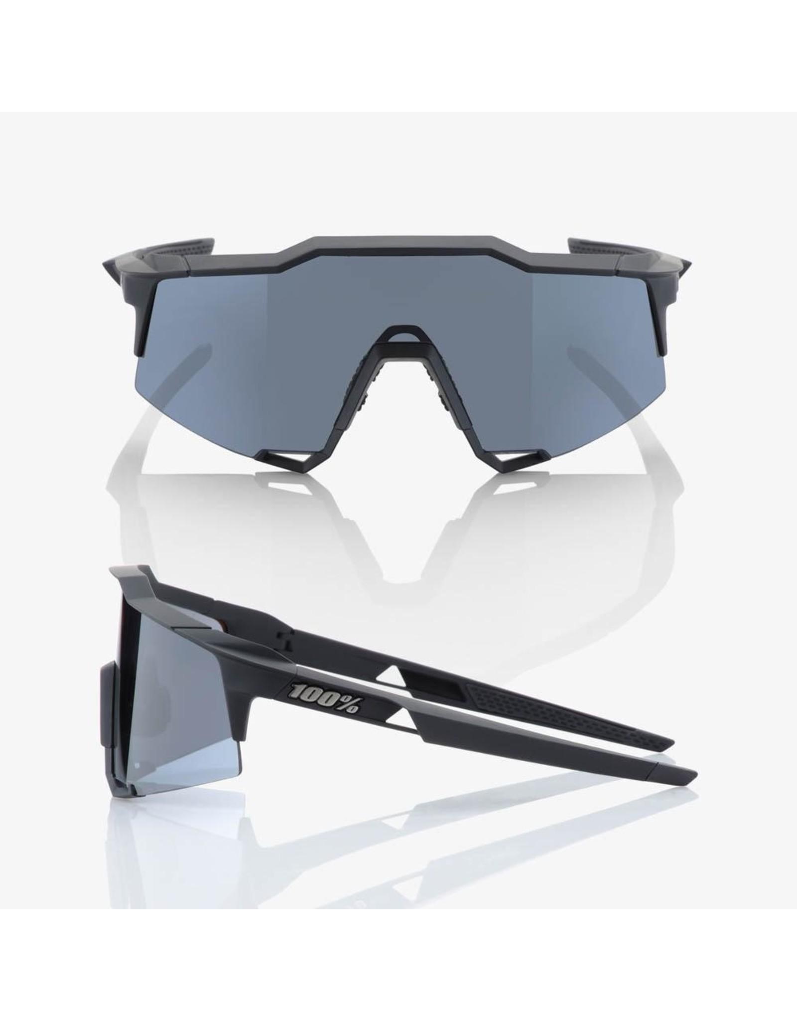 100% 100% Speedcraft Soft Tact Black Smoke Lens