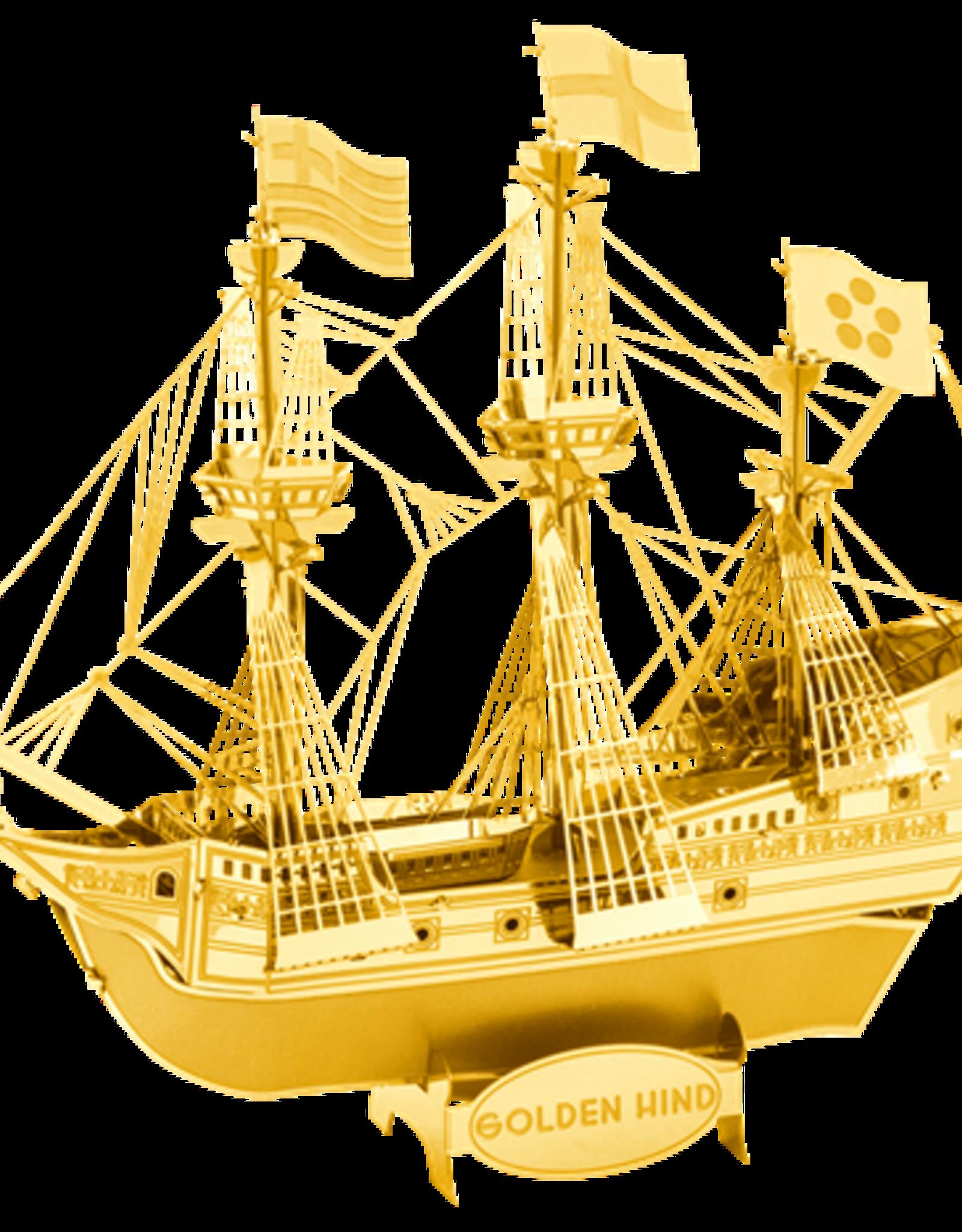 Metal Earth Golden Hind ship