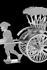 Metal Earth Japanese Rickshaw