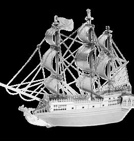 Metal Earth Black Pearl ship