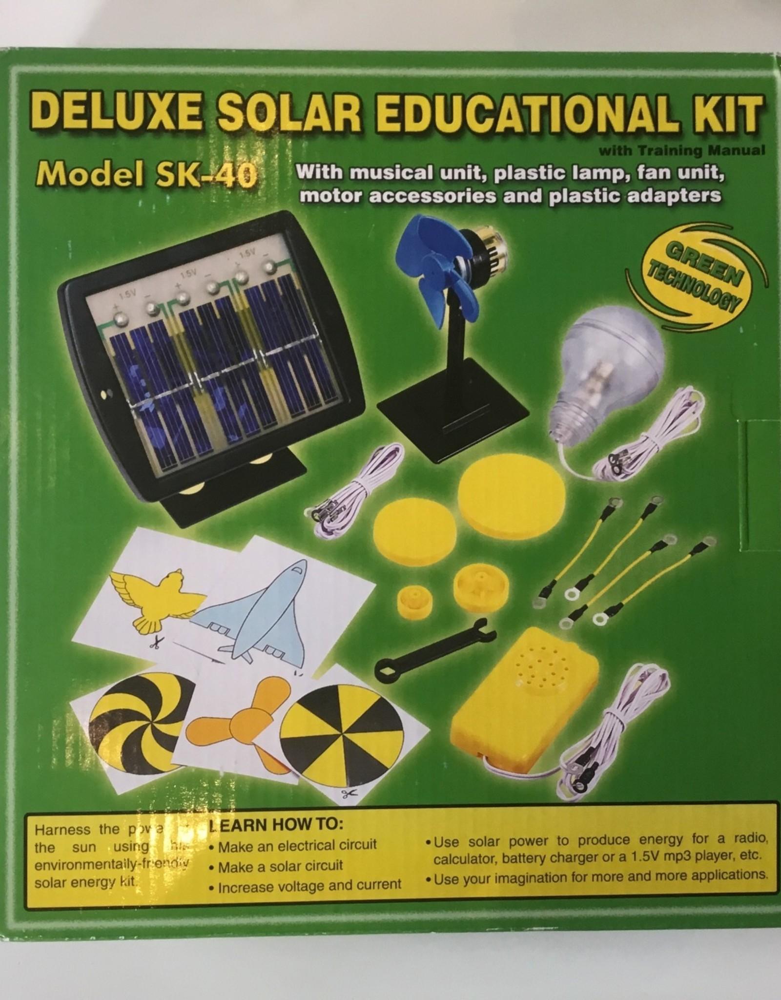 Solar Deluxe Educational Kit