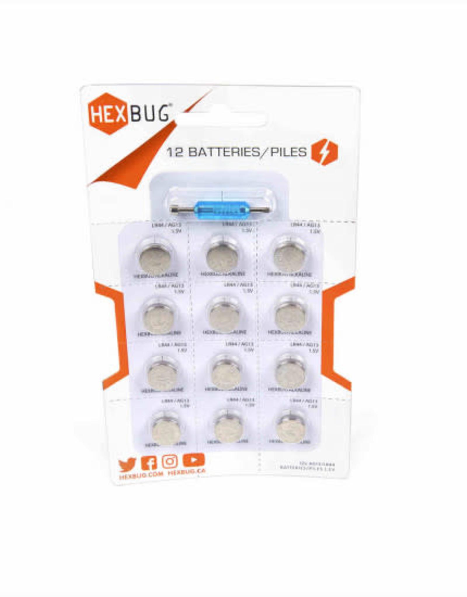 hexbug batteries 12- pack