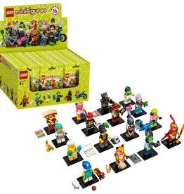 Minifigures lego series 19