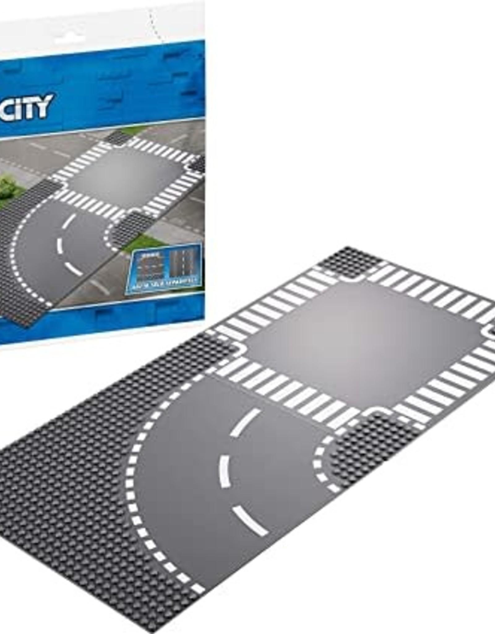 Lego Curve and Crossroad board