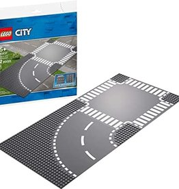 City: Town Curve and Crossroad board