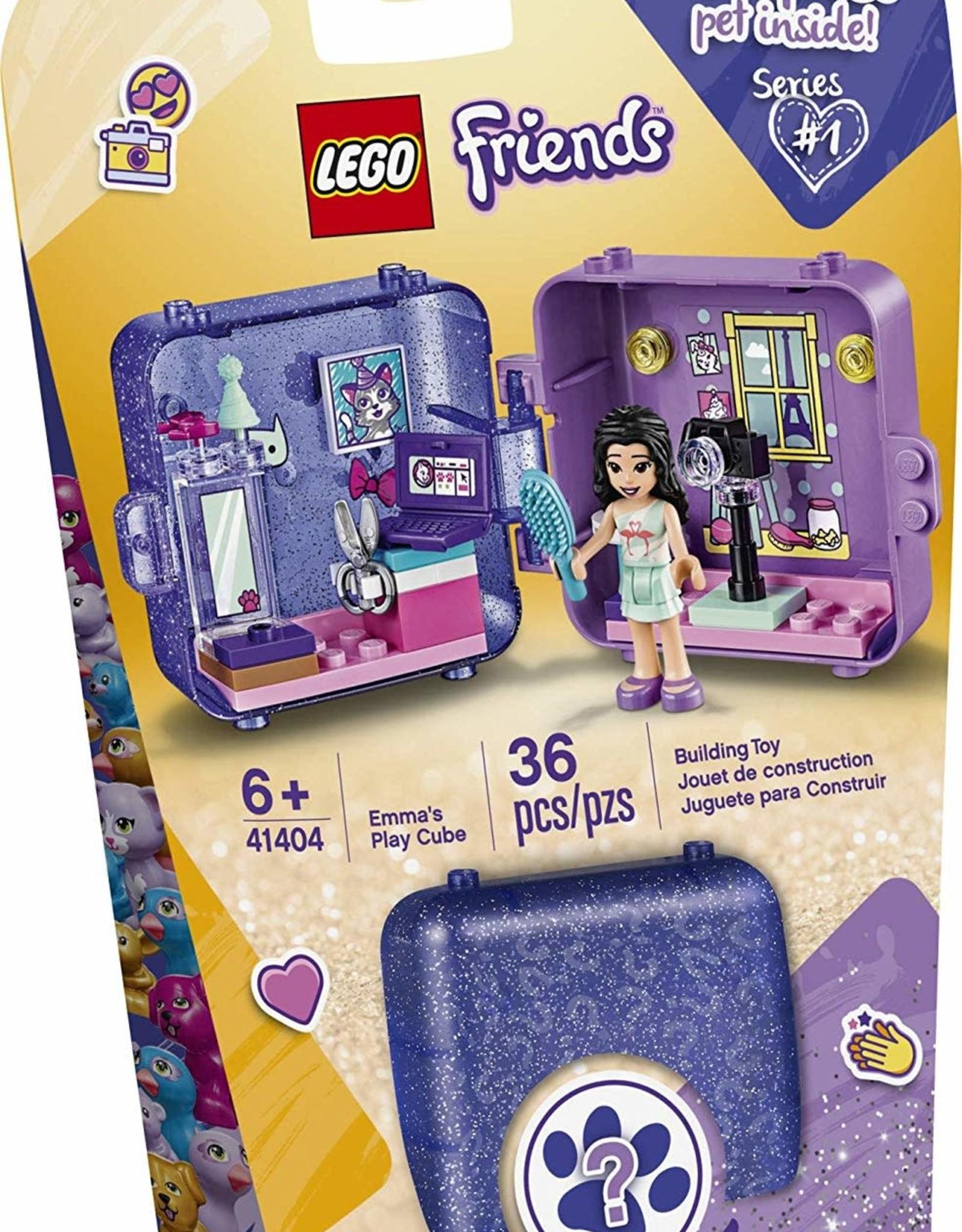 Emma's play cube lego