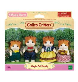 Epoch International Calico Critter Maple Cat Family